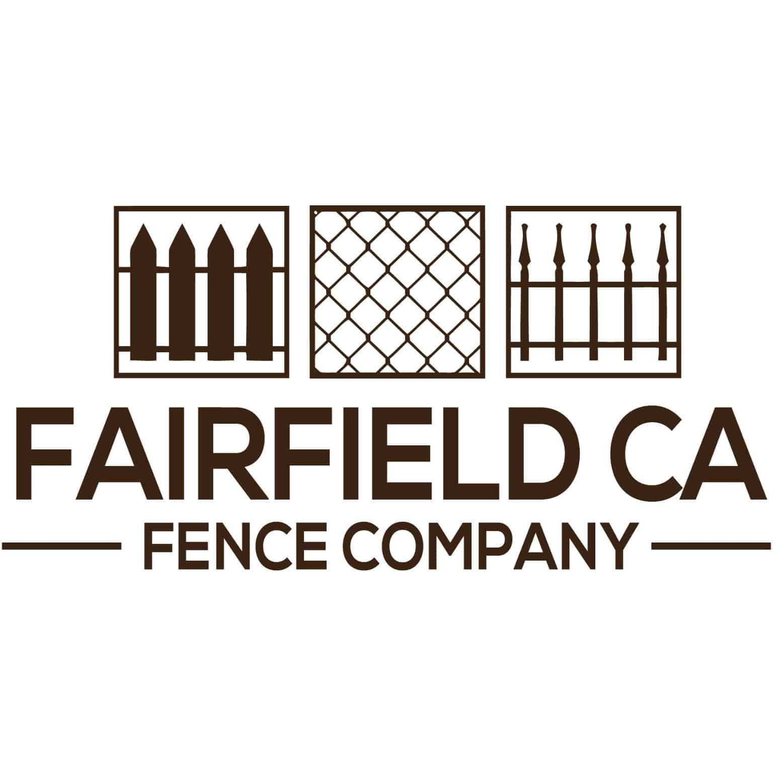 Fairfield CA Fence Co square logo