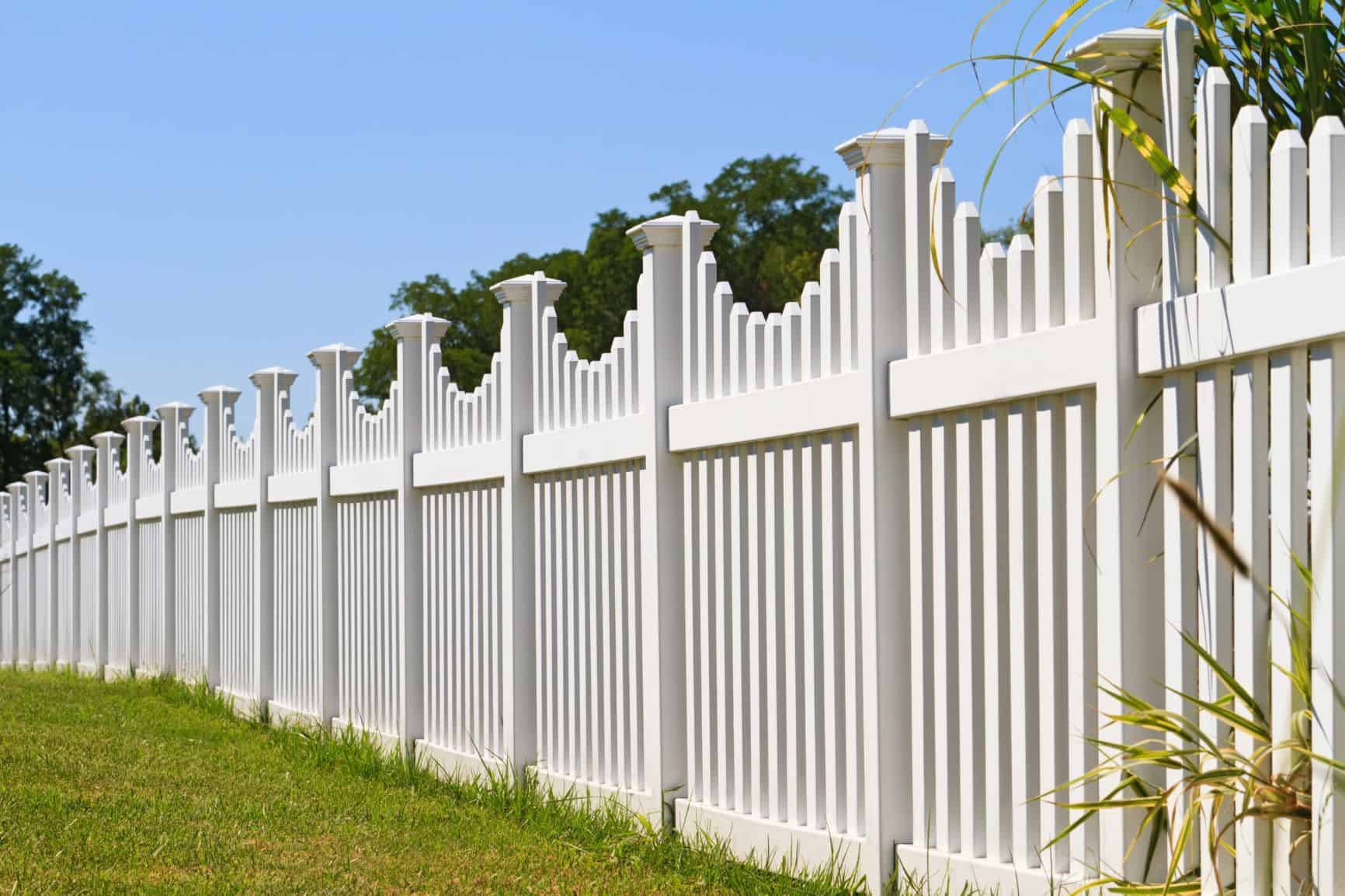 vinyl fence Fairfield
