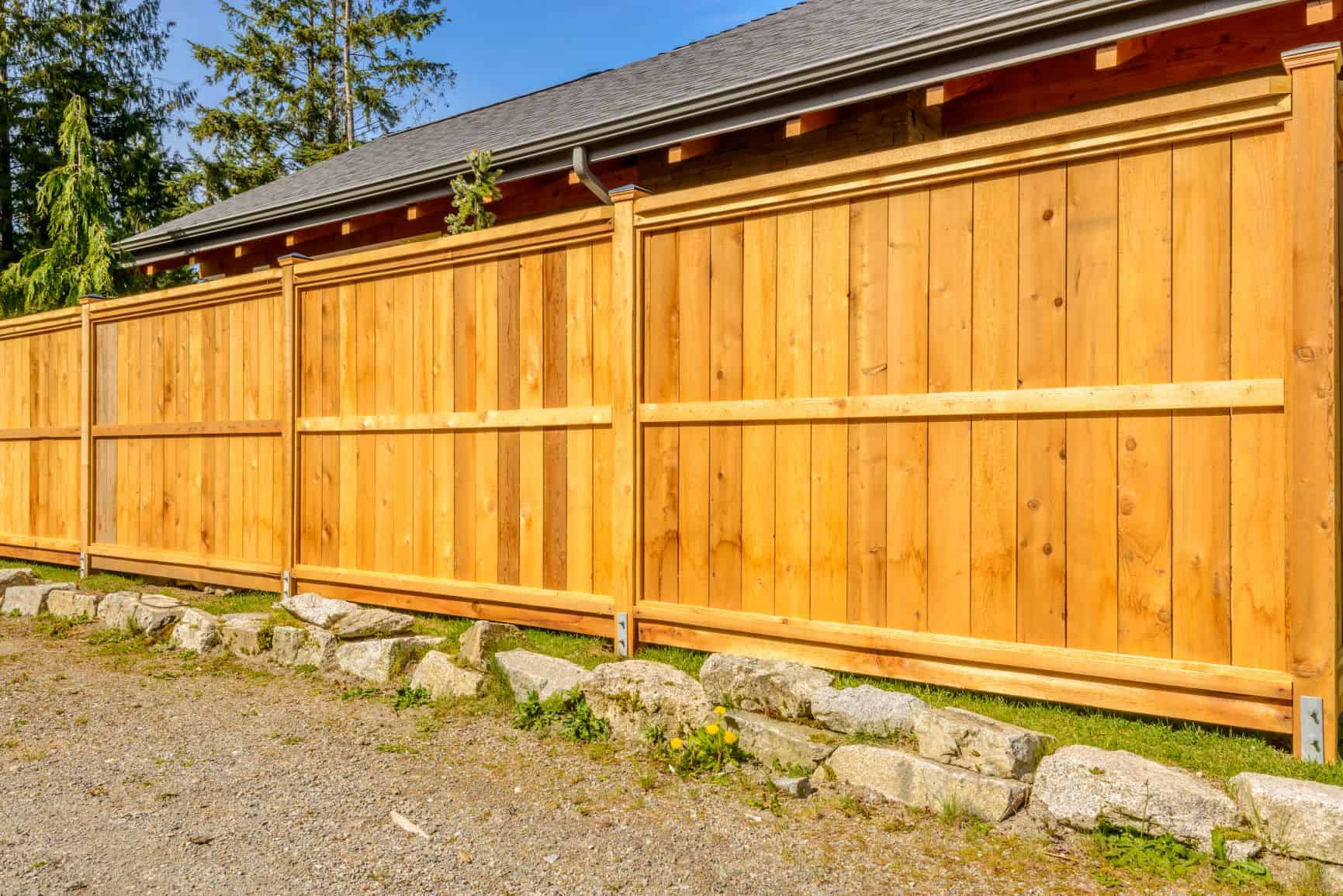 wood fence Fairfield