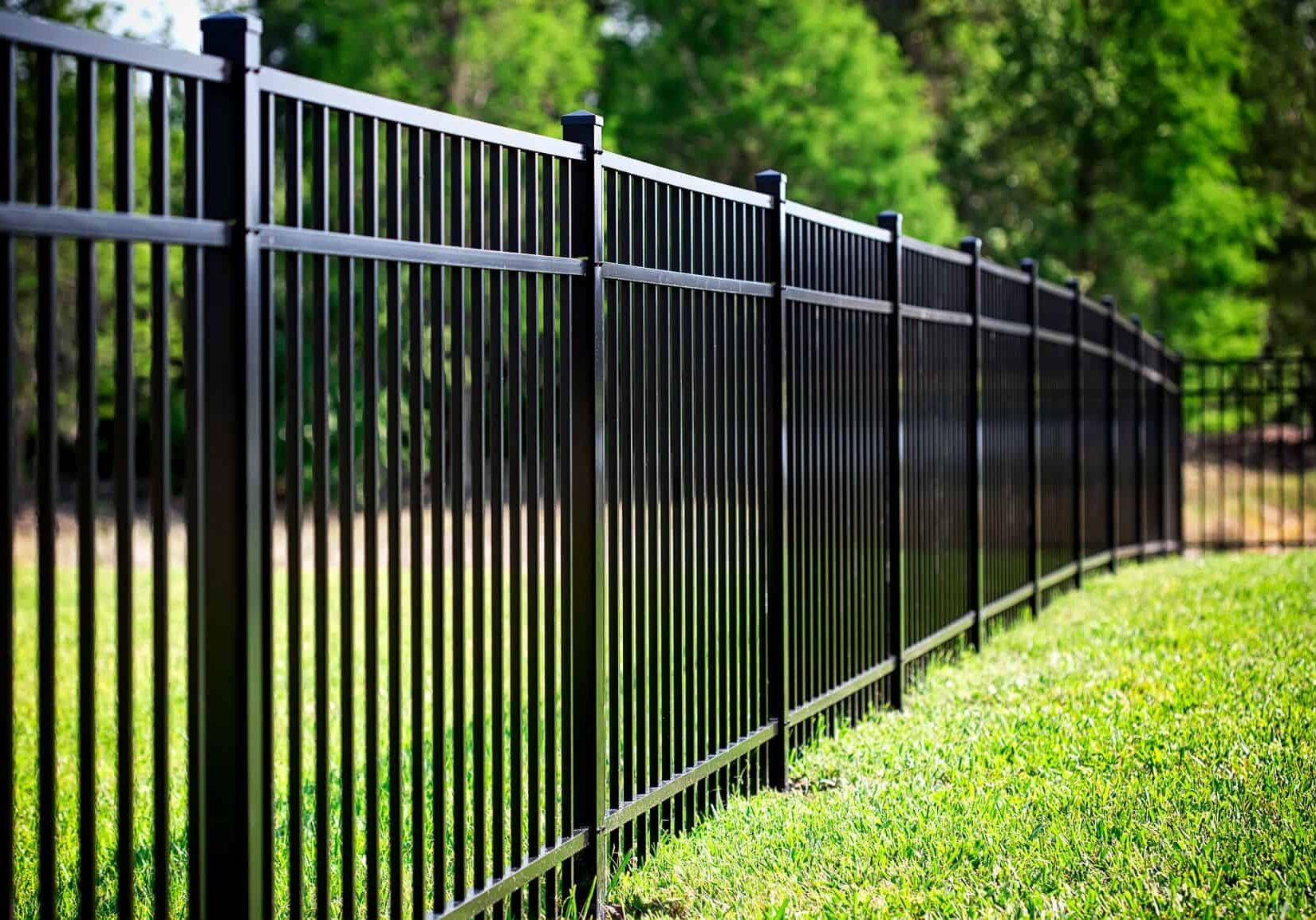 Aluminum fence Fairfield